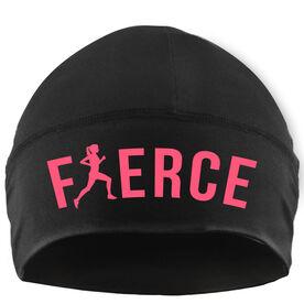 Run Technology Beanie Performance Hat - Fierce Runner Girl
