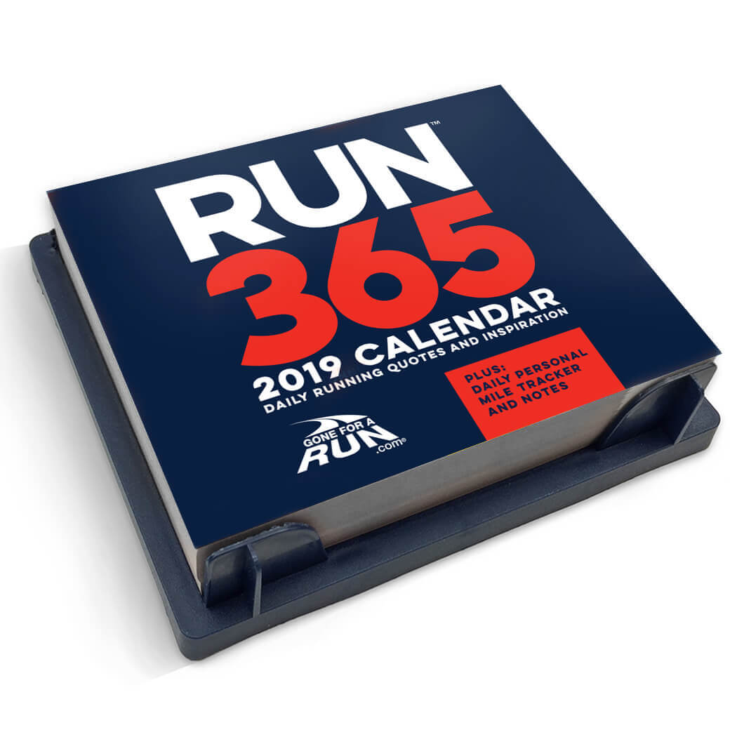 inspirational runner u2019s 2019 daily desk calendar
