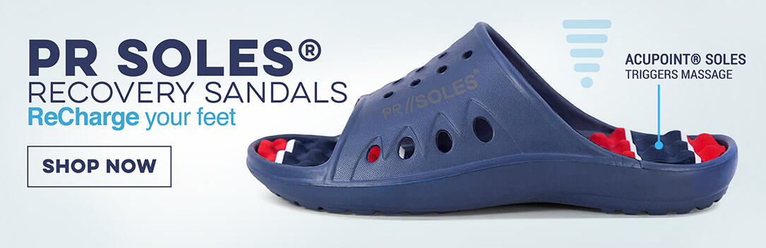 PR Soles Recover Sandals on Gone for a Run!