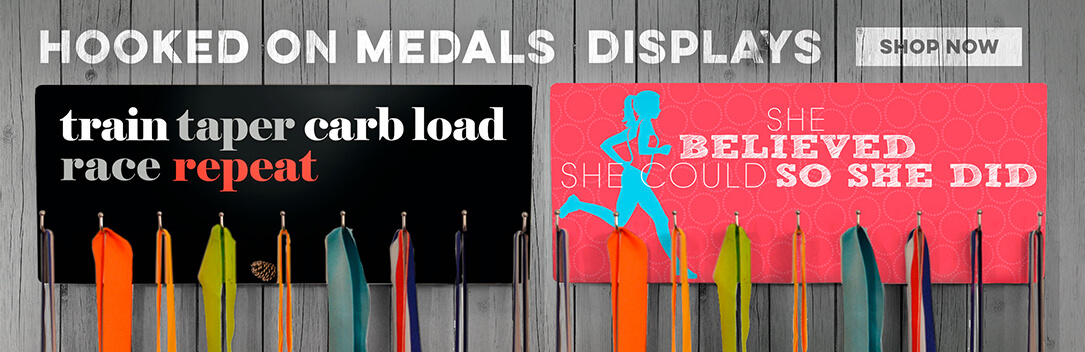 Medal Hook Boards from Gone For a Run!