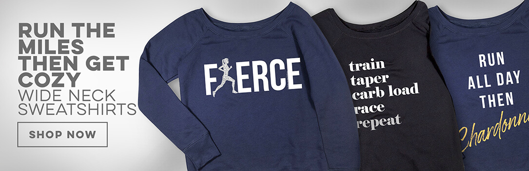 New Off Shoulder Sweatshirts from Gone For a Run!