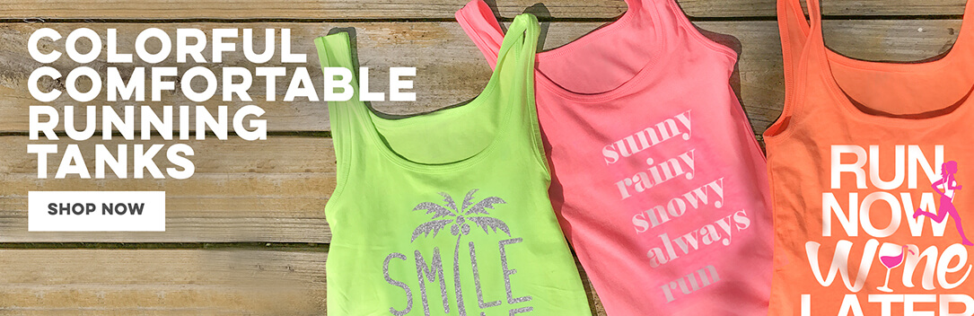 Tank Tops from Gone For a Run!