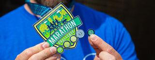 Image of marathon challenge medal