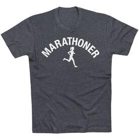 Running Short Sleeve T-Shirt - Marathoner Girl
