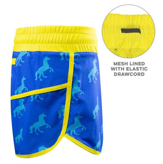 Women's Running Shorts - Run With Unicorns