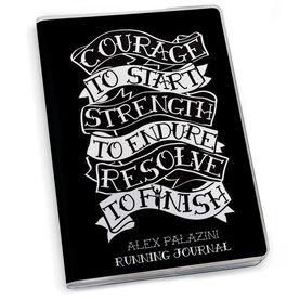 GoneForaRun Running Journal - Courage to Start Tattoo