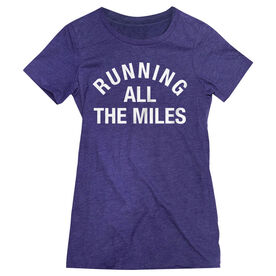 Women's Everyday Runners Tee - Running All The Miles
