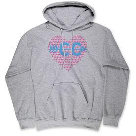 Cross Country & Cross Country Standard Sweatshirt Cross Country Love