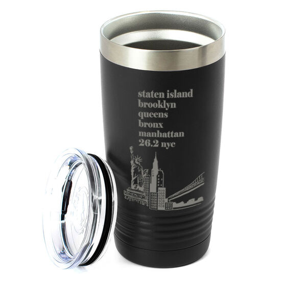 Running 20 oz. Double Insulated Tumbler - NYC 26.2 Mantra