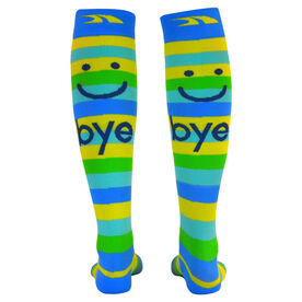 Make Me Smile Compression Knee Socks