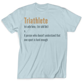 Vintage Triathlon T-Shirt - Triathlete Definition
