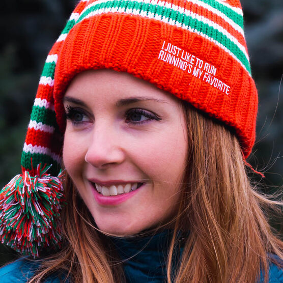 Running Knit Hat - Elf