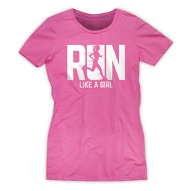Women's Everyday Runners Tee - Run Like A Girl