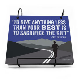 BibFOLIO® Race Bib Album - To Give Anything Less