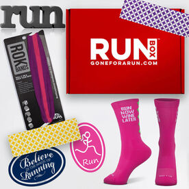 August Limited Edition RUNBOX™ Gift Set - Female