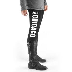 Running High Print Leggings - 26.2 Chicago