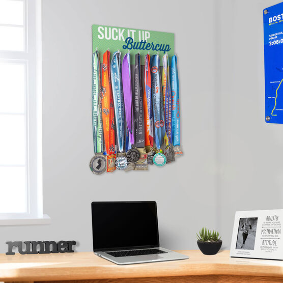 Running Hooked on Medals Hanger - Suck It Up Buttercup