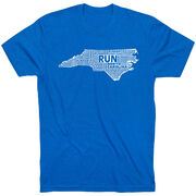 Running Short Sleeve T-Shirt - North Carolina State Runner
