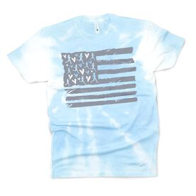 Running Short Sleeve T-Shirt - United States of Runners Tie-Dye