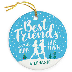 Running Porcelain Ornament - Best Friends (SRTT)