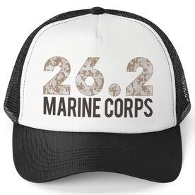Running Trucker Hat - Marine Corps 26.2