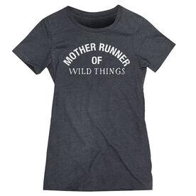 Women's Everyday Runners Tee - Mother Runner of Wild Things