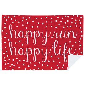 Running Premium Blanket - Happy Run Happy Life