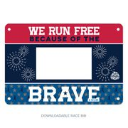 Virtual Race - We Run Free Because of the Brave 4 Miler (2021)