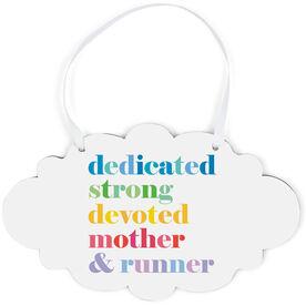 Running Cloud Sign - Mantra Mother Runner