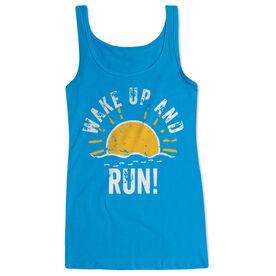 Running Women's Athletic Tank Top - Wake Up And Run