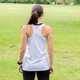 Women's Racerback Performance Tank Top - Suck It Up Buttercup