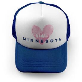 Running Trucker Hat Run Minnesota