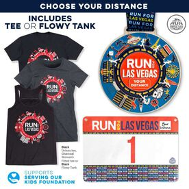 Virtual Race - Run For Las Vegas (5 Race Cities Challenge)