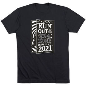 Running Short Sleeve T- Shirt - Run Out Of The 2020 Zone Into 2021