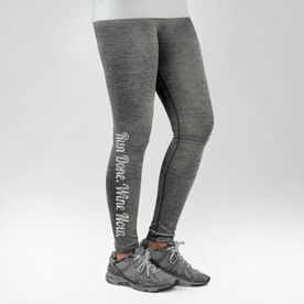 Running Performance Tights Run Done Wine Now