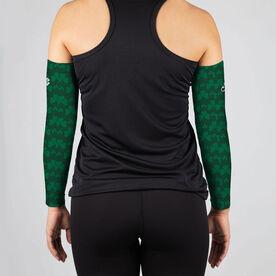 Running Printed Arm Sleeves - Run Clover