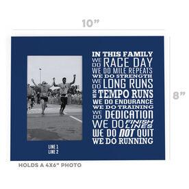 Running Photo Frame - We Do Running