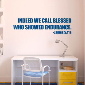 Indeed we call blessed Removable GoneForARunGraphix Wall Decal