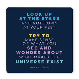 """Running 12"""" X 12"""" Removable Wall Tile - Look Up At the Stars"""