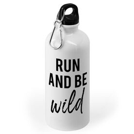 Running 20 oz. Stainless Steel Water Bottle - Run And Be Wild