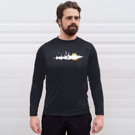 Men's Running Long Sleeve Tech Tee - Runner Reflection