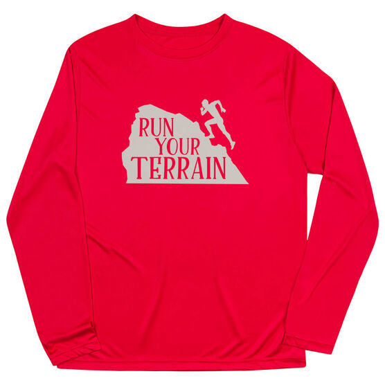 Men's Running Long Sleeve Tech Tee - Run Your Terrain