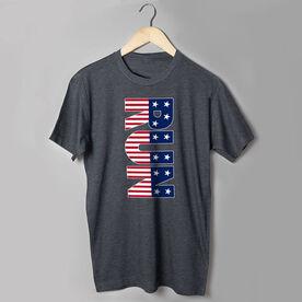 Running Short Sleeve T-Shirt - Patriotic Run
