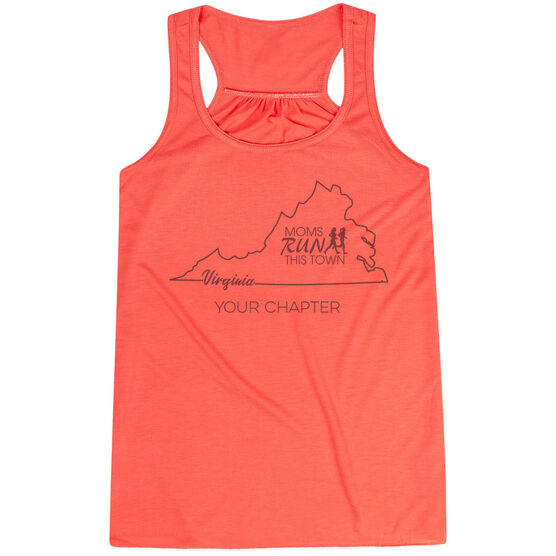 Flowy Racerback Tank Top - Moms Run This Town Virginia Runner
