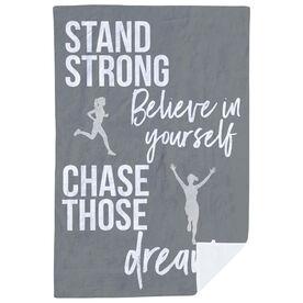 Running Premium Blanket - Stand Strong