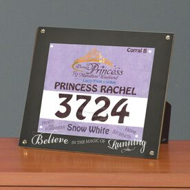 BibDISPLAY - Runners Race Bib Frame - Magic of Running