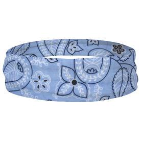 Multifunctional Headwear - Floral Blue RokBAND