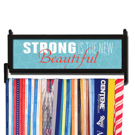 RunnersWALL Strong Is The New Beautiful Medal Display