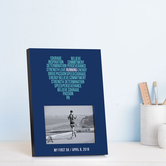 Running Photo Frame - Inspiration Heart
