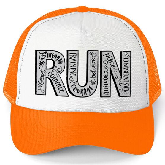 Running Trucker Hat - Run With Inspiration